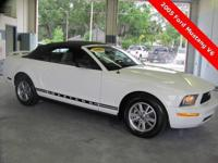 Horse V6, 2D Convertible, 4.0 L V6 SOHC, 5-Speed, RWD,