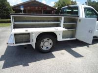 2005 Ford F350 XL Utility bed and a Power Stroke