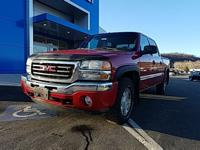Sport Red Metallic 2005 GMC Sierra 1500 SLE 4WD 4-Speed