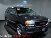 This outstanding example of a 2005 GMC Yukon SLT is