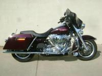 For sale is a 2005 Harley Davidson FLHT Electra Glide