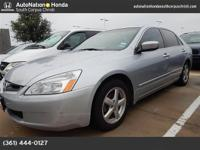 This impressive example of a 2005 Honda Accord Sdn EX-L