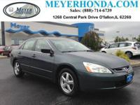 This 2005 Honda Accord Sdn is offered to you for sale