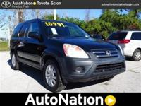 Looking for a clean, well-cared for 2005 Honda CR-V?