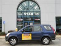 Options Included: N/AThis 2005 Honda CR-V LX is offered