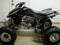 I am selling my 2005 Honda TRX450R due to the fact that