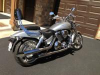 2005 Honda VTX1800F2, in exceptional condition. Run