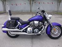I currently have a 2005 Honda VTX 1800-N for sale. This