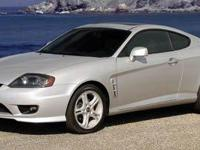 Santa Cruz Superstore offers this Hyundai Tiburon with