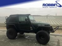 Take command of the road in the 2005 Jeep Wrangler!