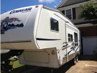 2005 Keystone Cougar 245rl, No smoking, No pets.
