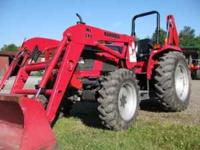 2005 Used Mahindra Tractor, Loader, Backhoe 4530