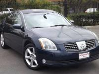 This 2005 Nissan Maxima 4dr 4dr Sdn V6 Auto 3.5 SE