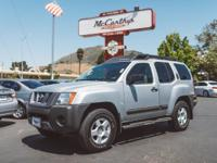 Options:  2005 Nissan Xterra S|Clean Carfax. Silver