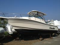 2005 Pursuit 2870 Walkaround. This boat is a fishing
