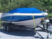 2005 20 Foot Regal Boat With Trailer and Electric