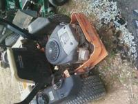 05 scag lawnmower...48 inch cut. 27 hrs..brand new