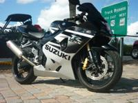 2005 Suzuki GSXR 600, call  Visit our website