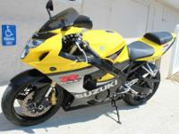 This is a 1 Owner 2005 Suzuki GSX-R750 and comes with