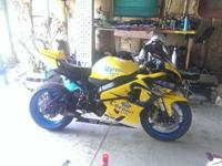 Year: 2005Exterior Color: YellowMake: SuzukiEngine Size