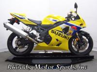 2005 Suzuki GSXR 600 with 10,660 Miles This is a nice