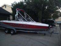 Clean one owner watercraft. 320 hours on 340 horse 5.7