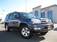Toyota 4-Runner! One Owner Title! 4WD Limited Package.
