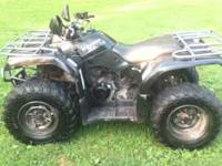2005 yamaha bruin 4x4 AUTOMATIC WITH A