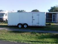 2006 10ftX20ft Triumph Enclosed Trailer for Sale! We
