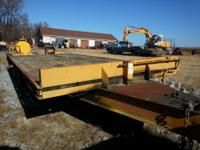 2006 12 Ton Backhoe Pro - 23 Foot Bed, Industrial