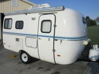 Virtually New 2006 Scamp 16' Features consist of