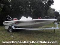 2006, 18' Tracker Marine NITRO 482 DC Single Gas