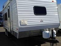 IMPECCABLE 20 FOOT CARSON TOY HAULER WITH ALL NEW TIRES