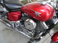 2008 2006 2007 yamaha v star low miles, has been
