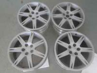 Part No. 65810aS Wheel Size 18 x 8 Condition used and