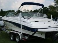 21' W/2' EXTENDED PLANE INBOARD/OUTBOARD VOLVO PENTA