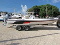 This 2006 22' Skeeter ZX22V Bay Boat is powered by a