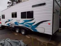 Type of RV: Travel Trailer - Toy Hauler Year: 2006