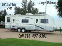 Here is a Beautiful Rv, Very easy to tow and has a big