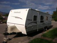 29' foot Keystone Outback Travel trailer for rent. Unit