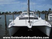 2006, 34' 105MC Catamaran Sailboat. Brand name New 2014