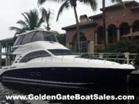 2006, 58 SEA RAY 580 Sedan Bridge Price: $609,000