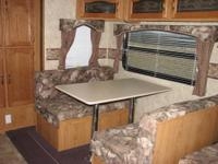 We purchased the camper new and it is in excellent,