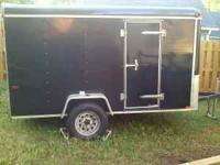 2006 6x10 enclosed trailer with new tires leveling