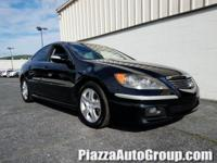 26/18 Highway/City MPG** Clean CARFAX. 2006 Acura RL