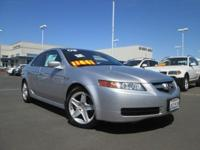 Gorgeous TL with NAVIGATION !! This 2006 TL is for