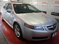 THIS USED 2006 ACURA TL ALABASTER SILVER METALLIC SEDAN