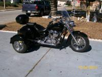 i have a 2006 Honda Shadow Aero 750 With an insta trike
