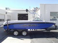 This 2006 Air Nautique 211 Limited is dressed up like a