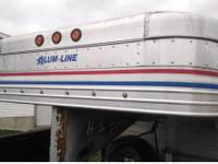 "2006 Alum-Line 8""X31"" Live Stock Trailer For Sale In"